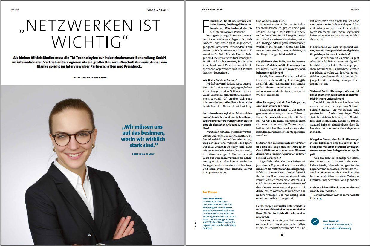 vdma magazin tia abwasser interview
